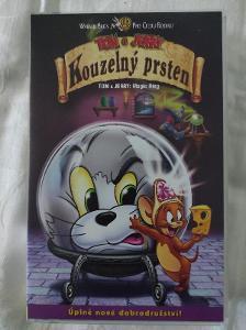VHS Tom a Jerry Kouzelný prsten