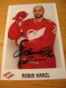 Robin Hanzl - Spartak Moskva - orig. autogram