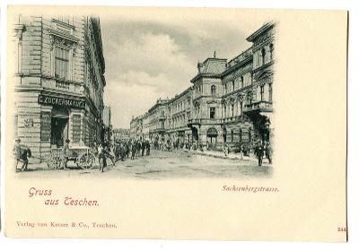 Těšín Cieszyn Teschen, Polsko Polska, okr. Karviná