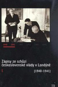 Zápisy ze schůzí československé vlády v Londýně