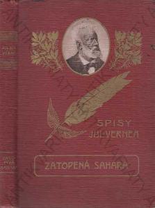 Zatopená Sahara Julius Verne L. Benett, vazba PERO