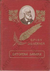 Zatopená Sahara (Verne - pero) Julius Verne