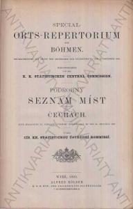 Podrobný seznam míst v Čechách a na Moravě 1893
