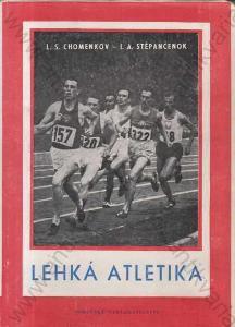 Lehká atletika Sokolské nakladatelství, Praha 1952
