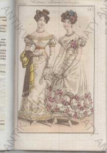 Journal des dames et des modes 1824 móda