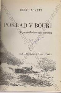 Poklad v bouři Bert Sackett V. Šmid, Praha 1947