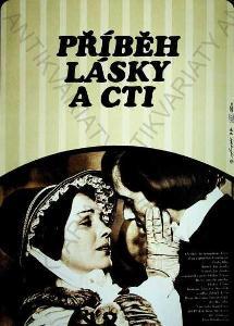 Příběh lásky a cti Fišer film plakát Vávra Liška