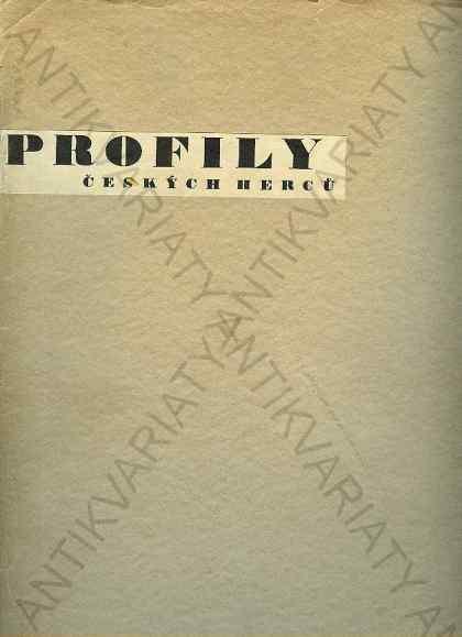 Profily českých herců - Knihy