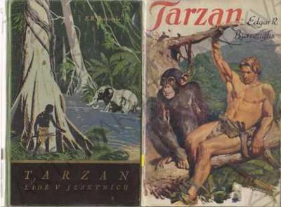 Tarzan Edgar Rice Burroughs TaM Burian 11 svazků