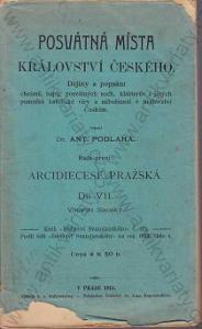 Posvátná místa království Českého A. Podlaha 1913