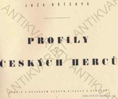 Profily českých herců