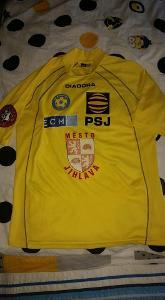 Originální hraný dres fotbalového klubu FC Vysočina Jihlava 2005/2006