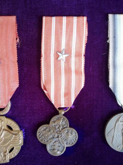 Československý válečný kříž 1914–1918 - Faleristika