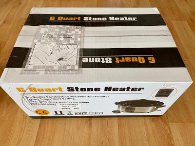 Masáže lávovými kameny - kvalitní set - nové