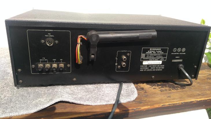 Tuner TECHNICS TX-608 sbírkový, TOP stav - TV, audio, video