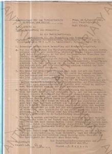 Šanon s dokumenty Aero Vodochody za protektorátu