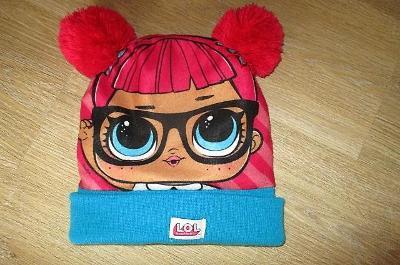Dívčí zimní čepice - LOL