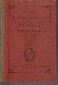 Leitfaden für den elementarcursus des sanskrit