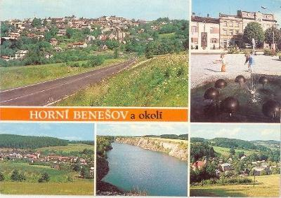 Horní Benešov a okolí