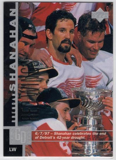 Brendan SHANAHAN - Upper Deck 97-98 #268 * DET - Sportovní sbírky