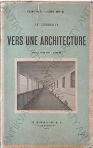 Vers une architecture Le Corbusier Paris 1923,brož