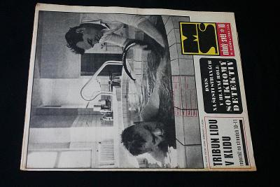 Mladý Svět  10/1969 , Ročník XI.  (s14)