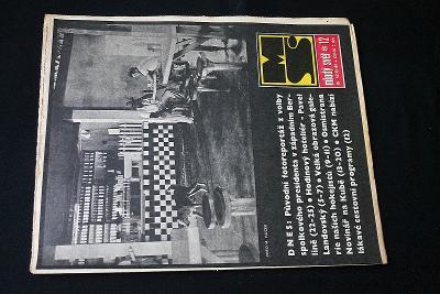 Mladý Svět  12/1969 , Ročník XI.  (s14)