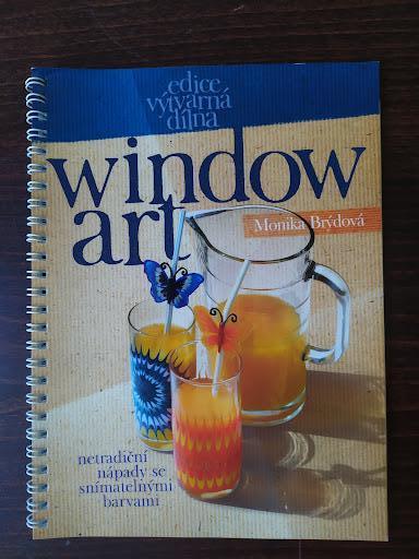 WindowArt netradiční nápady se snímatelnými barvami - Monika Brýdová