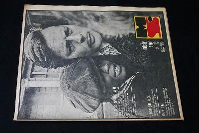 Mladý Svět  13/1969 , Ročník XI.  (s14)