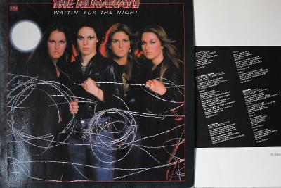 The Runaways – Waitin' For The Night LP 1977 vinyl Germany 1.press NM