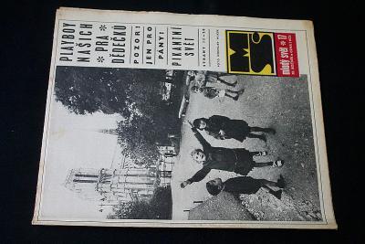 Mladý Svět 17/1969 , Ročník XI. (s14)