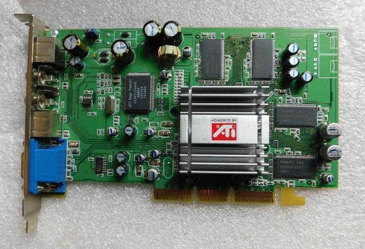 Stará AGP grafika funkční - Historické počítače