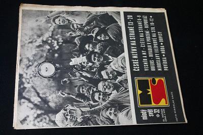 Mladý Svět 32/1969 , Ročník XI.  (s14)