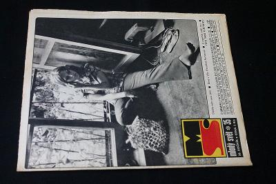 Mladý Svět 35/1969 , Ročník XI.  (s14)