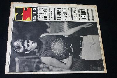 Mladý Svět 36/1969 , Ročník XI.  (s14)