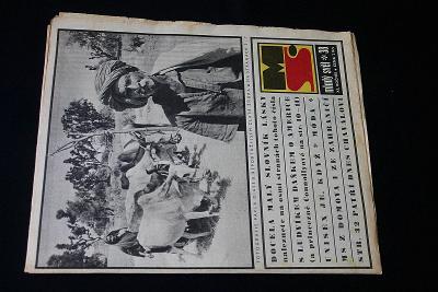 Mladý Svět 38/1969 , Ročník XI.  (s14)