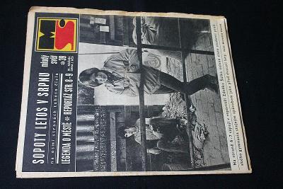 Mladý Svět 39/1969 , Ročník XI.  (s14)