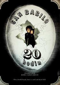 San Babilo 20 hodin Dimitrij Kadrnožka film plakát