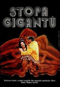 Stopa gigantů Dimitrij Kadrnožka film plakát 1982