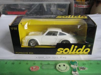 SOLIDO, No 68, PORSCHE 934, orig. obal, -- TOP --,