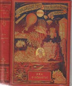 Hra o dědictví Julius Verne 1898  Vilímek Stužka