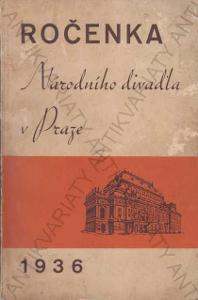 Ročenka Národního divadla v Praze 1936