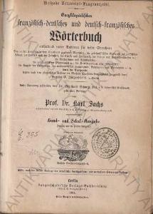 Französisch-dt. und dt.-französisches Wörterbuch