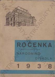 Ročenka Národního divadla v Praze 1938