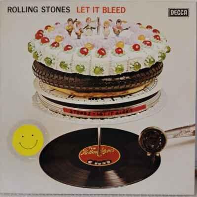 LP Rolling Stones - Let It Bleed, 1981 EX