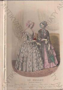 Le Follet katalog módy - polovina 19. století