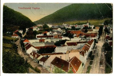 Trenčianské Teplice, Trenčín