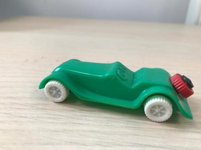 Staré zelené autíčko SMĚR