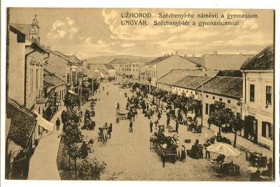 Užhorod, Ungvar, Podkarpatská Rus, Ukrajina.