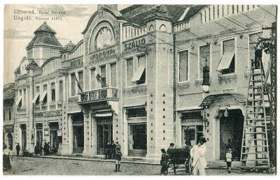 Užhorod, Ungvar, Podkarpatská Rus, Ukrajina. Hotel Koruna